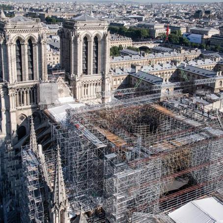 Notre Dame Reconstruction Update 2021