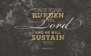 Sign of psalm 55:22