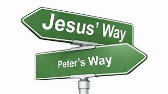 As Jesus Spoke to Peter, So He Speaks to Us