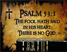 Bible and Psalm 53:1