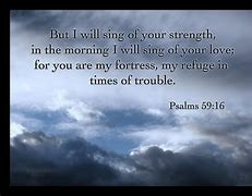 You are my strength and my fortress