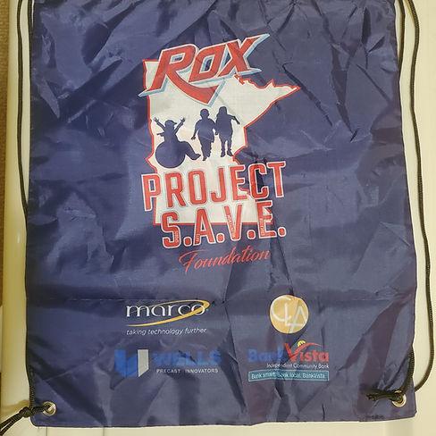 Rox Back To School Drawstring Bags BACK