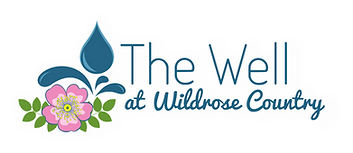 The Well at Wild Rose Country WHITE Logo