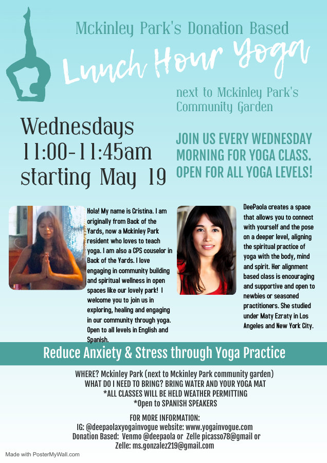 Copy of Yoga Class Flyer - Made with Pos