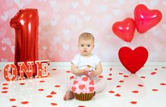 Valentijns cakesmash