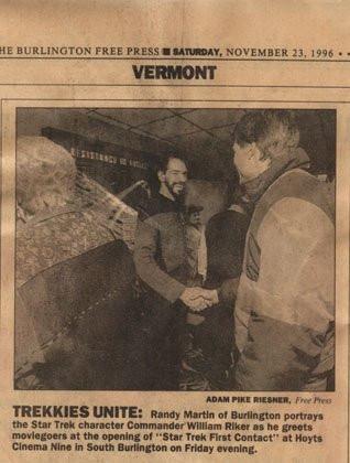 Burlington Free Press 1996