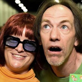 Velma nd Shaggy