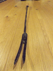 Toasting fork by Moon Rabbit Crafworks
