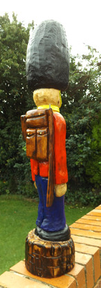 Wooden soldier by Moon Rabbit Craftworks