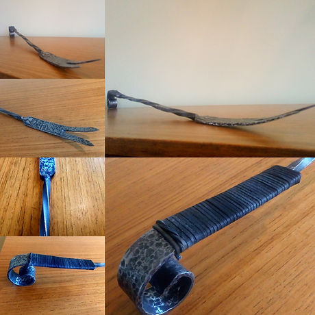 Toasting fork by Moon Rabbit Craftworks
