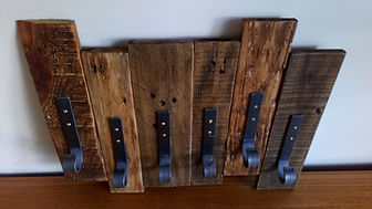 Coat hooks by Moon Rabbit Craftworks