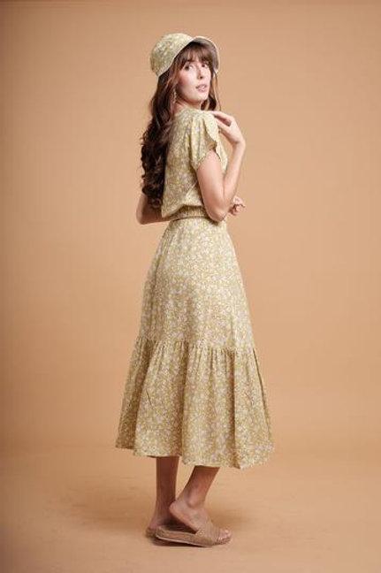 Zinnia Top & Skirt Set
