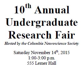 Dr. Pecic participated at the10th Annual Columbia Undergraduate Research Fair at Columbia Universit