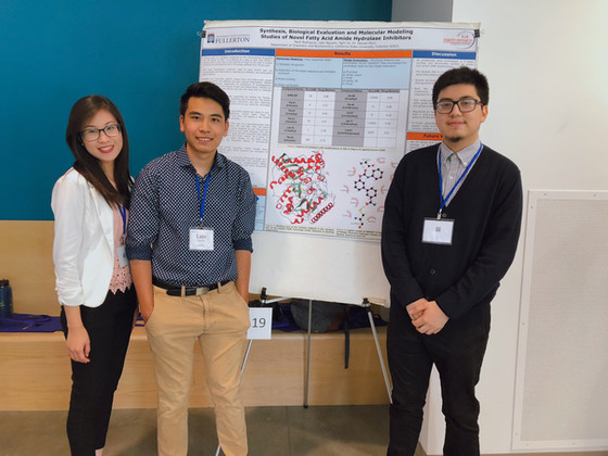 Lato, Nghi and Mark Attended 2019 UC Irvine SoCal Undergraduate Research Symposium