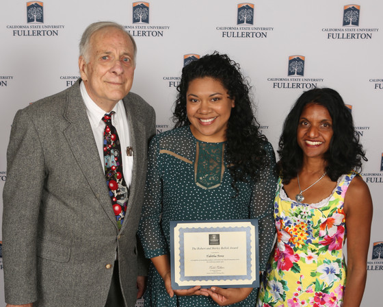 Tabitha Perez received the NSM Award