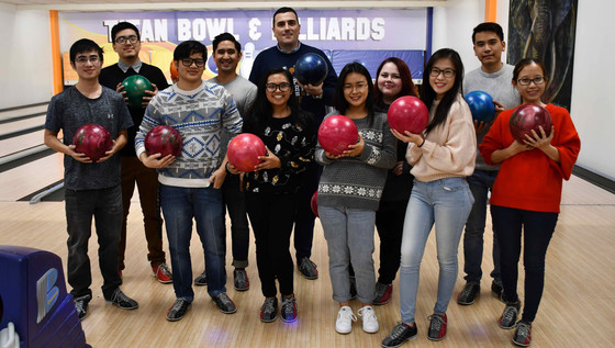 End of Semester Bowling Party
