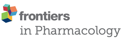 Publication in the Frontiers of Pharmacology