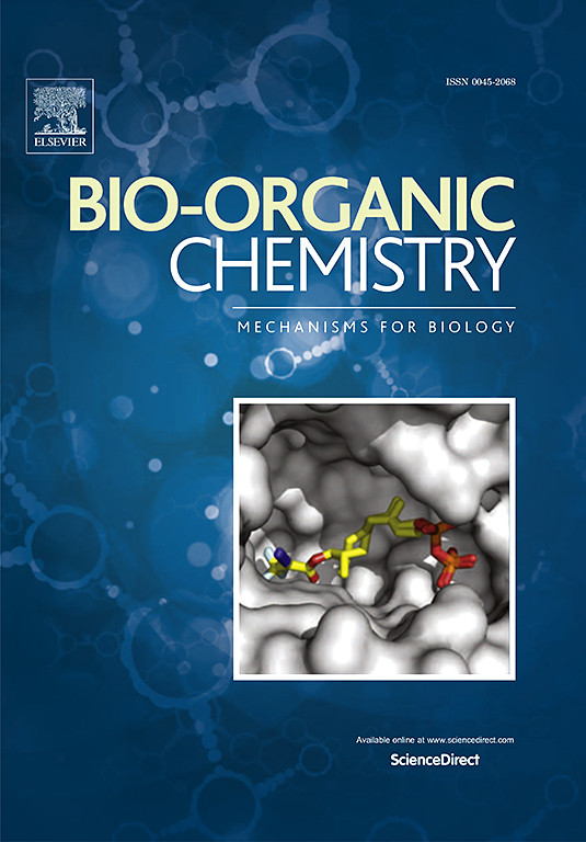Publication in the Bioorganic Chemistry