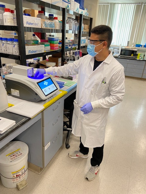 Alex Gaspar Joined the Lab