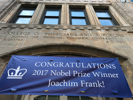 The 2017 Nobel Prize in Chemistry at Columbia University Medical Center!