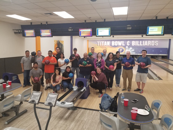 Bowling with Professors Night