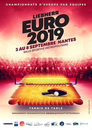 Championnats d'Europe Nantes 2019