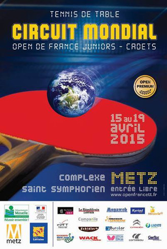 FIRST ALBUM - OPEN DE FRANCE METZ 2015