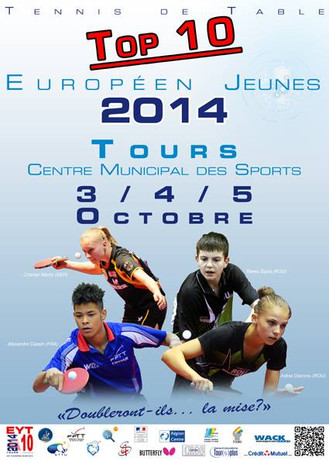 TOP 10 EUROPEEN JEUNES 2014 - TOURS (France)