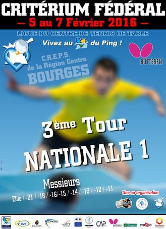 ELITE A - 3è tour CF N1M - Bourges - Février 2016