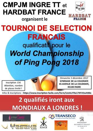 Qualifications françaises Hardbat Ingré - 3 Décembre 2017