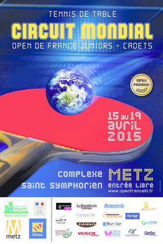 ALBUM SUITE 1 - OPEN DE FRANCE METZ 2015