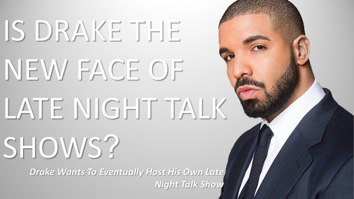Move over Jimmy Kimble, there's Rapper on deck for late night talk!!
