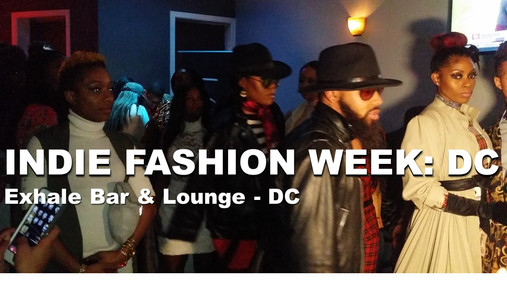 #MODELMONDAY - Indie Fashion Week: DC Begins with Glam and Swagg on every level!