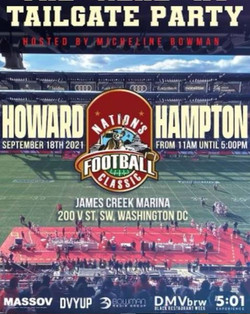 TailGate Party - Howard U vs Hampton