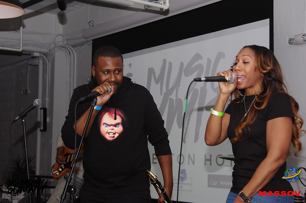 The Experience Band & Show closed out the 3rd annual DC Music Summit with artist Devin Messina.
