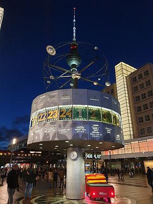 Экскурсия по вечернему Берлину