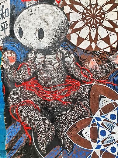 берлин граффити, уличное искусcтво, экск