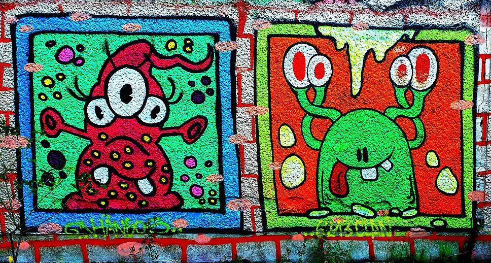 неформальный Берлин, граффити Берлина, К