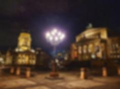 вечерний берлин, красивые места берлина,