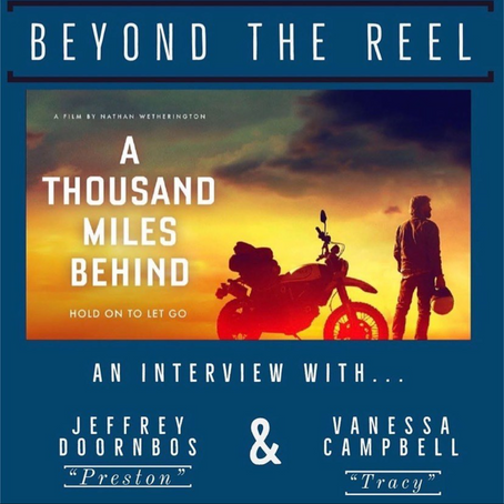 Vanessa Campbell and Jeffrey Doornbos go BEYOND THE REEL to talk ATMB - Listen right here!!