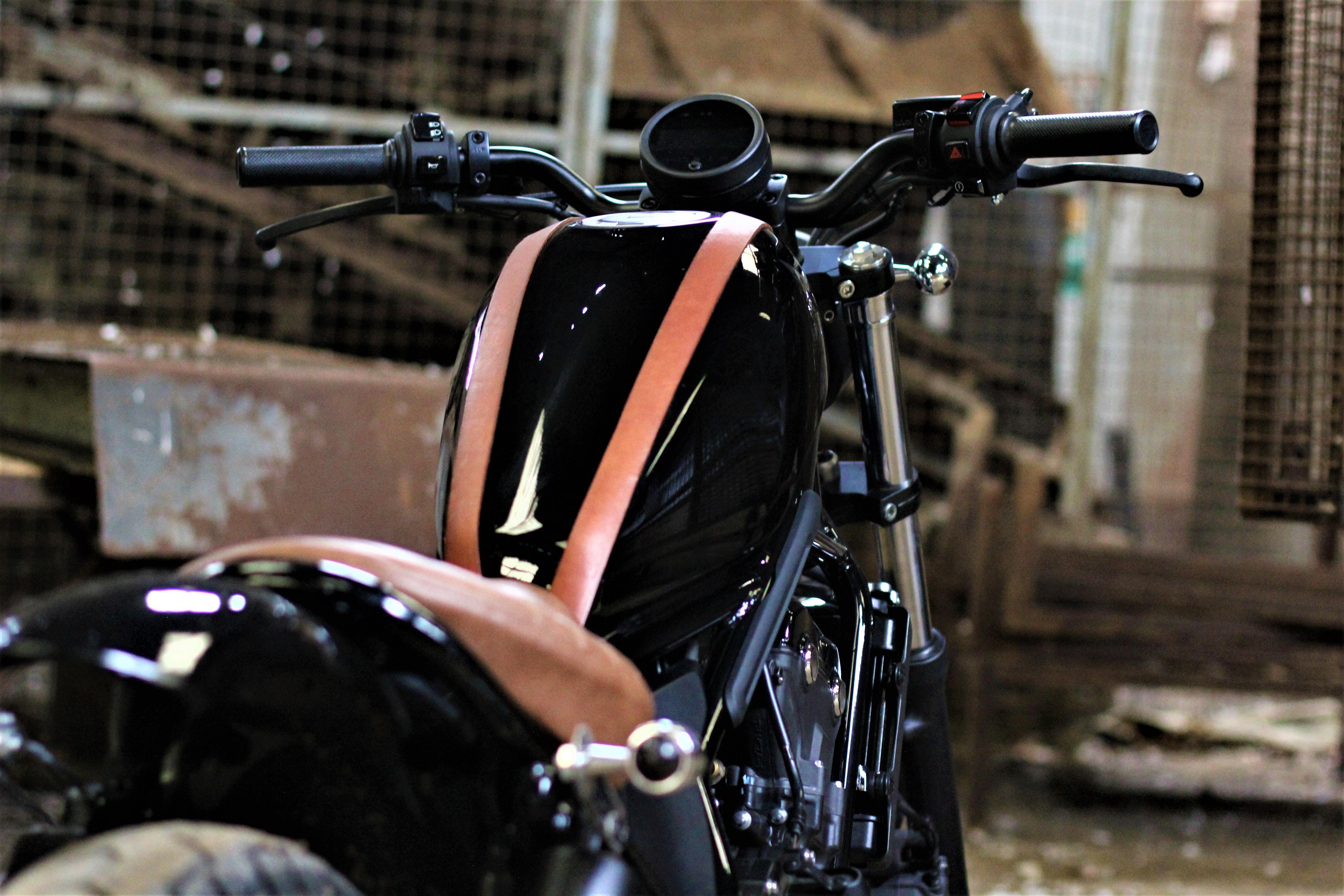 Honda CMX 500 rear