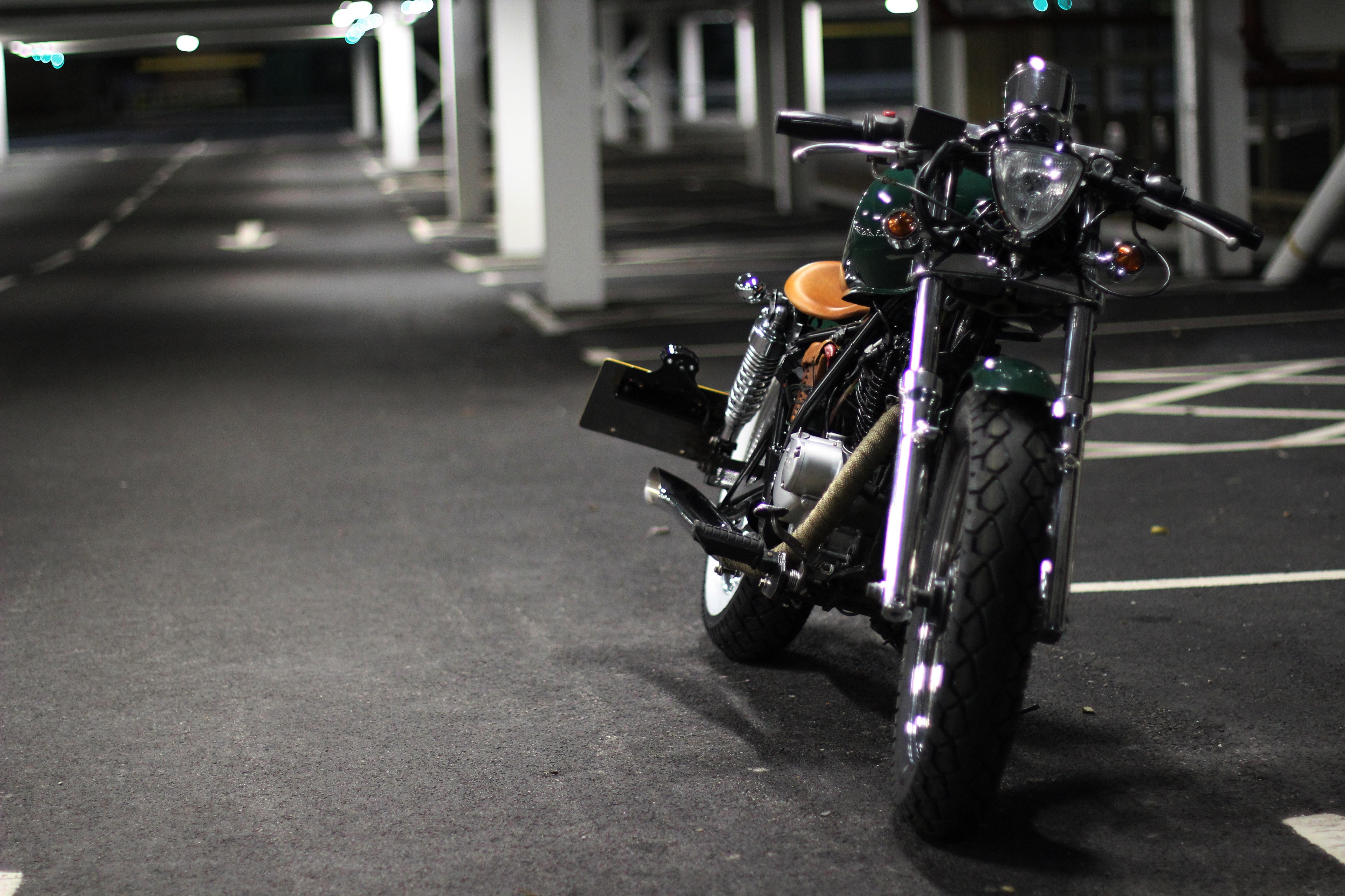 'Racing Green' Suzuki GZ125cc