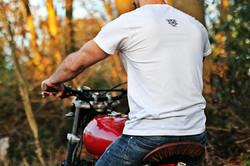 Red TU125 shirt rear