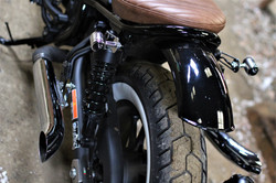Honda CMX 500 both exhausts