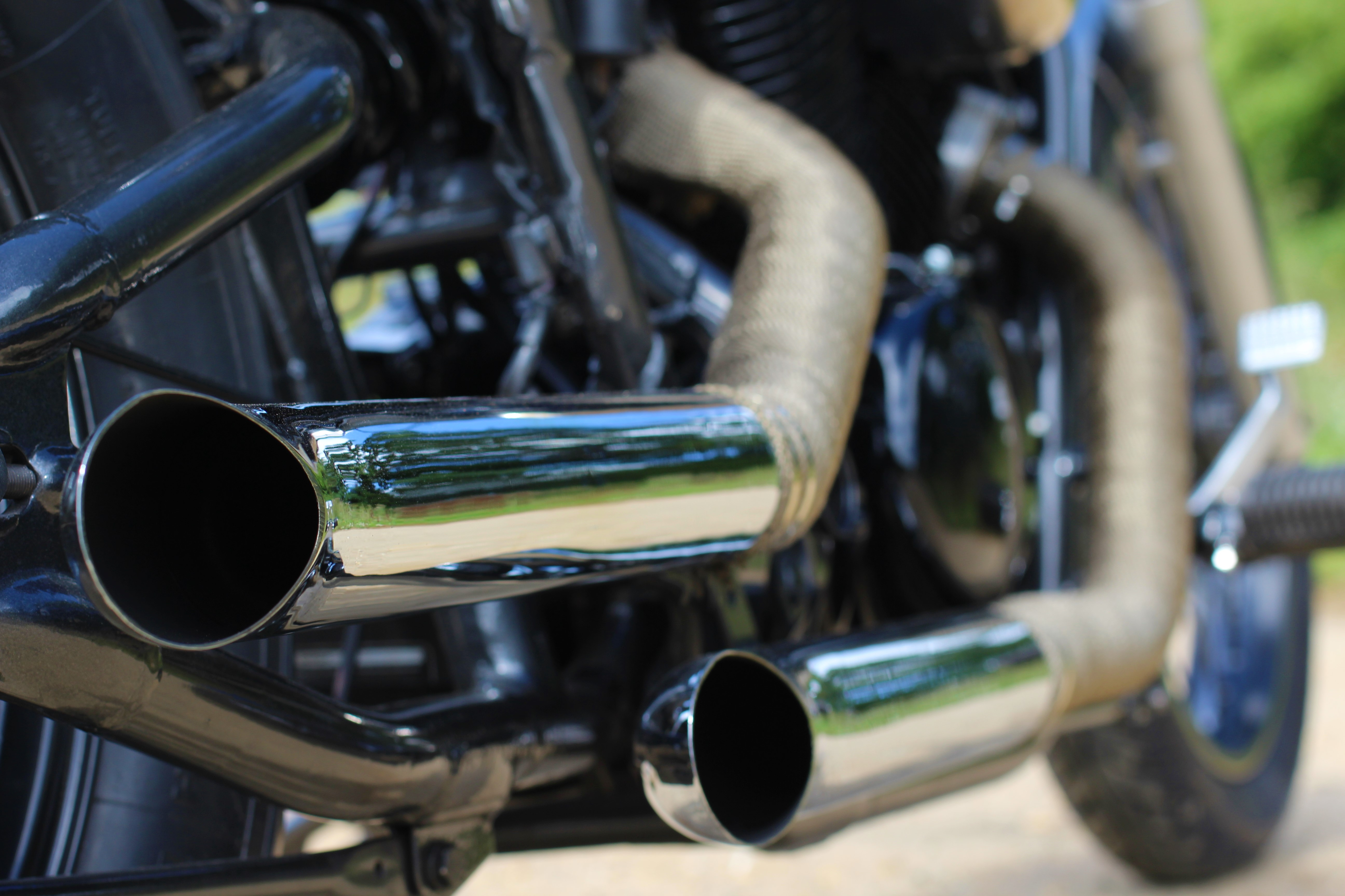 Honda VT 600 exhausts