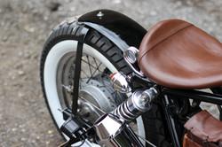 'Black' Honda Rebel 125cc