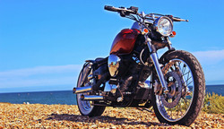 Yamaha XVS125 Bobber