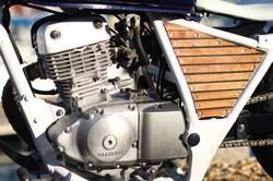 Custom Suzuki GZ125   engine