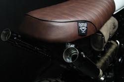 custom honda 650 rear