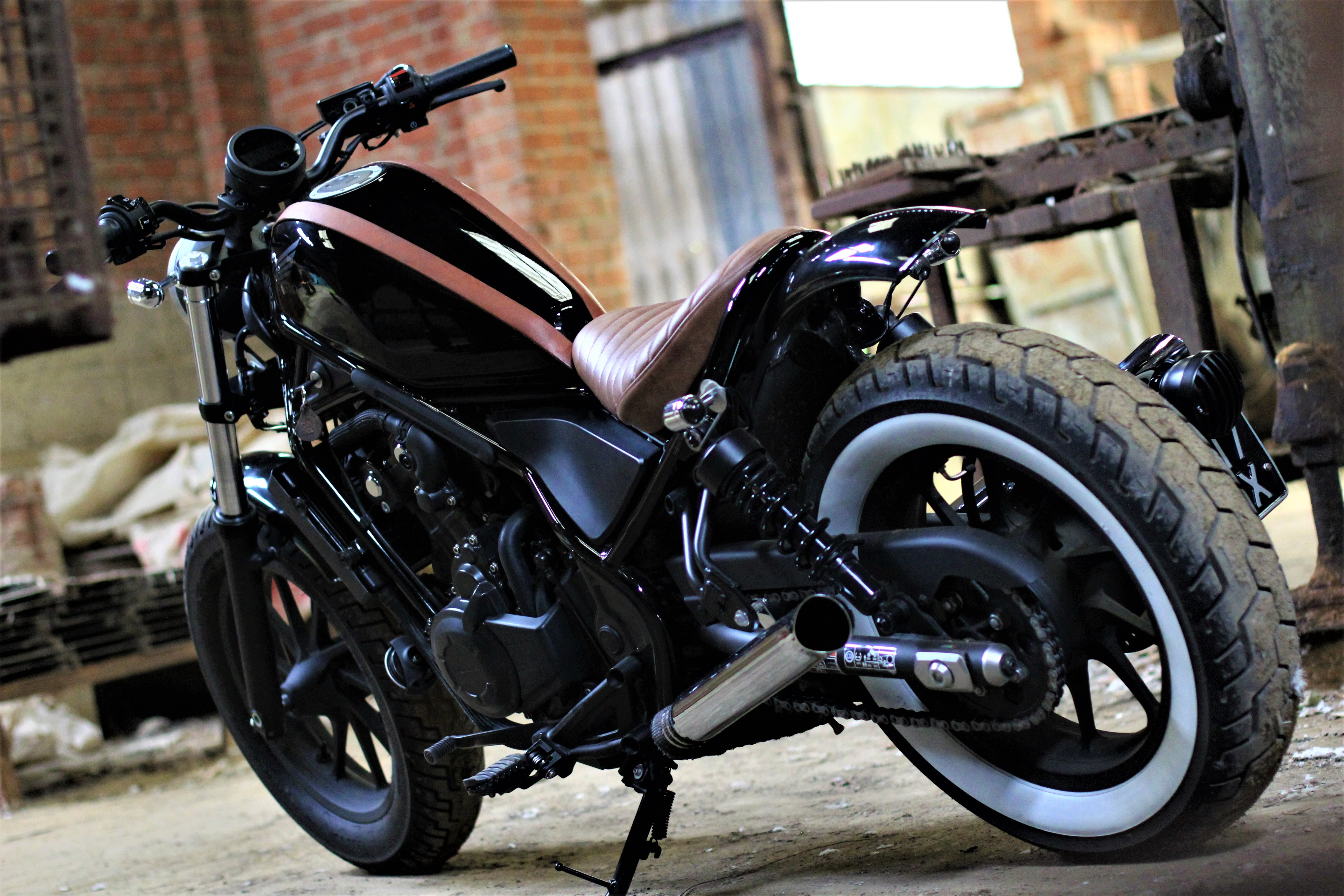 Born Rebel Honda Rebel Cmx500 Twinthing Custom Motorcycles
